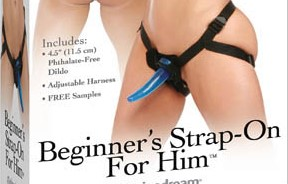 Fetish Fantasy Series Beginner's Strap-On For Him