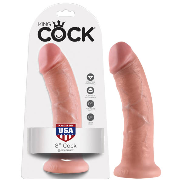 King Cock 8'' Cock